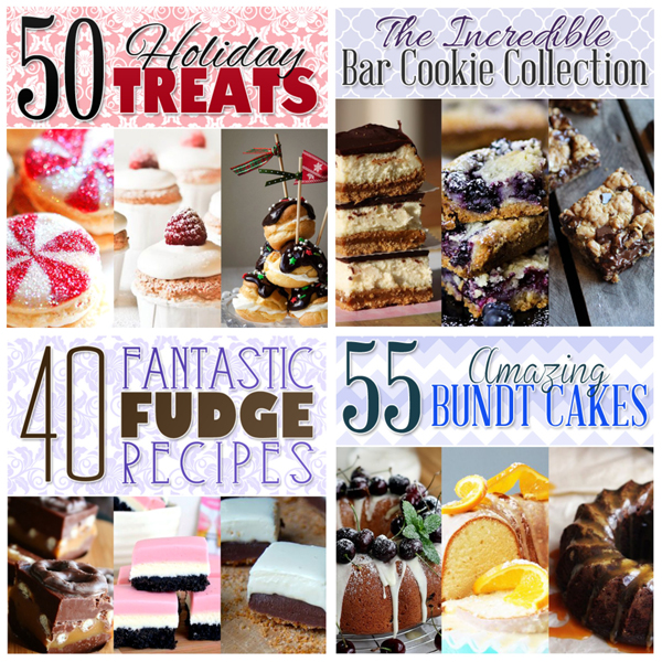 50HolidayTreats- Fudge- Bundt-Bar-Cookie-Collection