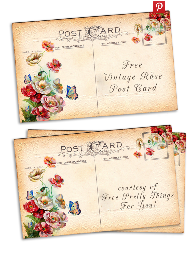 Free-vintage-altered-art-rose-postcards-2-by-fptfy