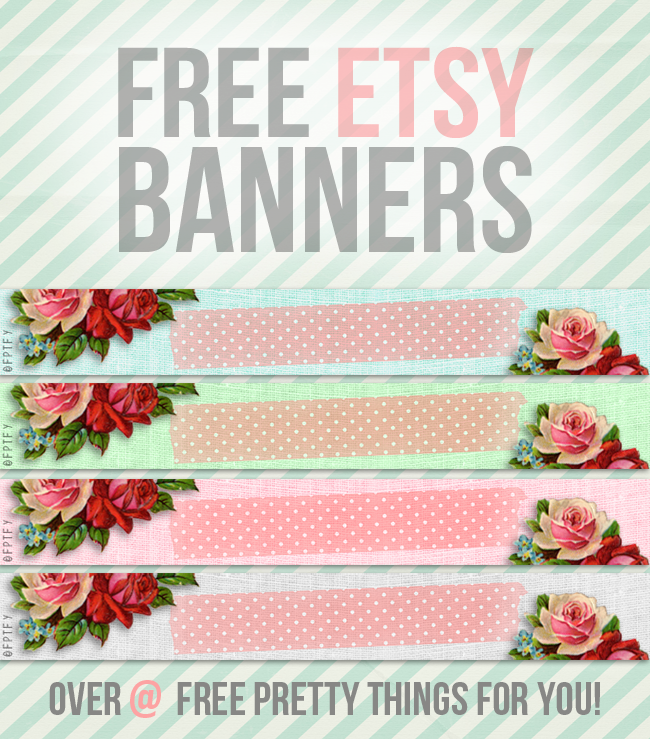 images: free etsy banners