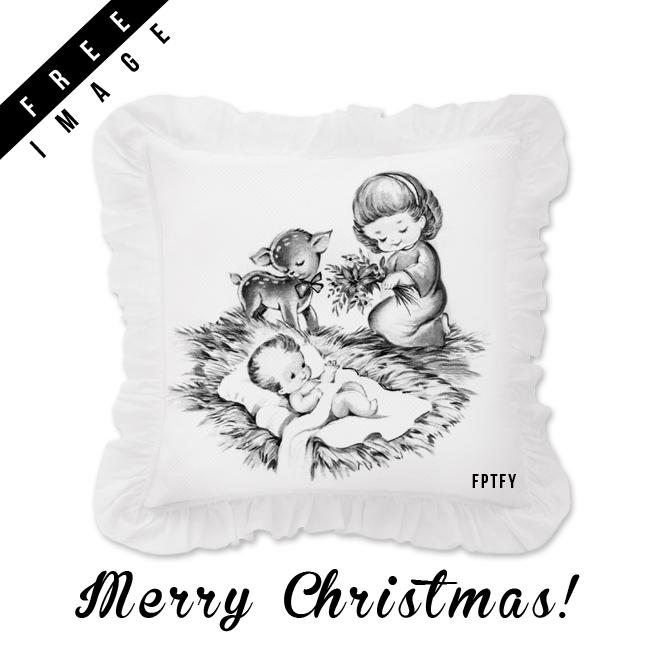 free-vintage-Christmas-image-fptfy