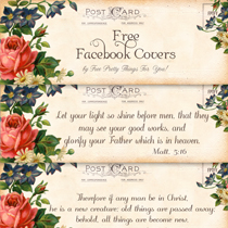 Free Blank/Scripture Facebook Timeline Covers