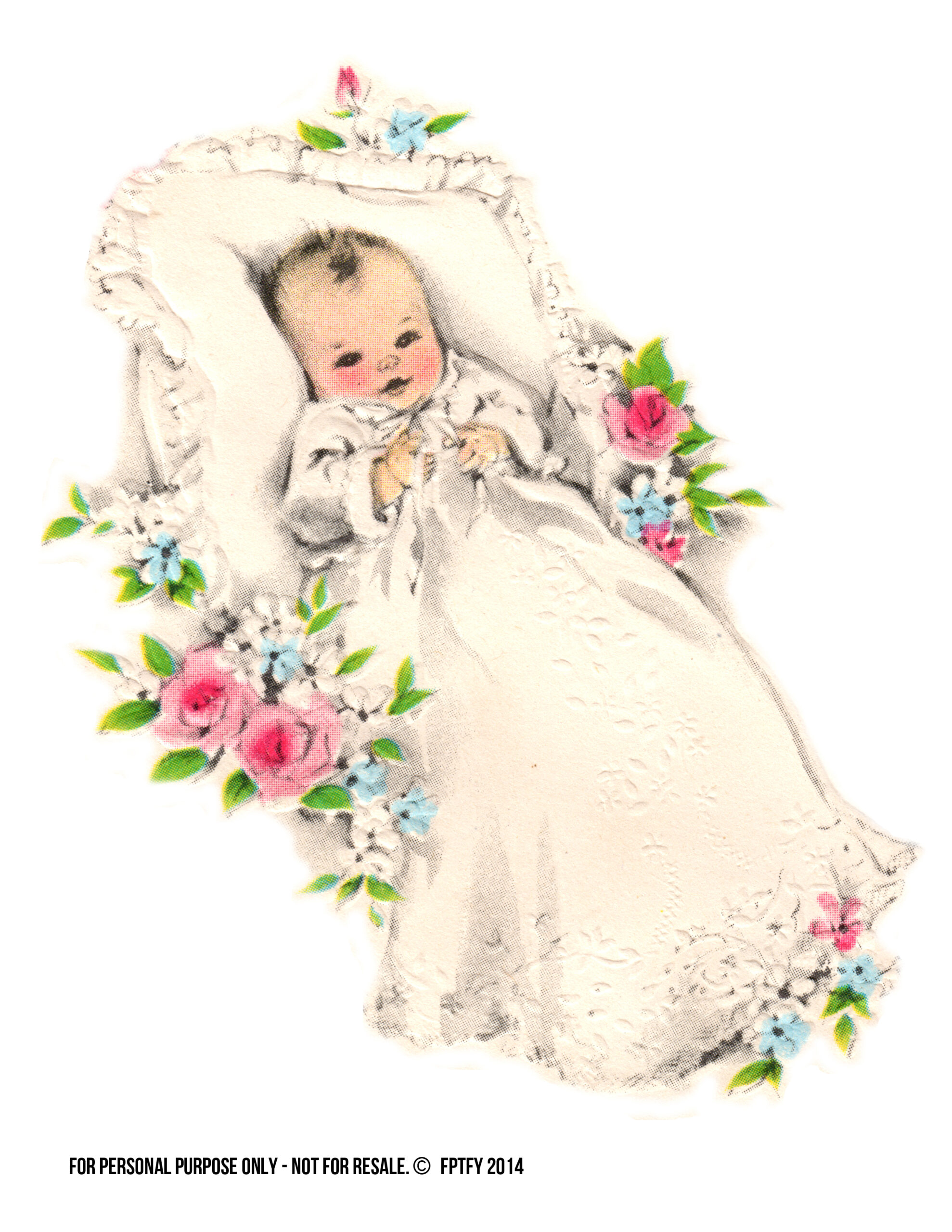 Vintage Baby Clipart 25