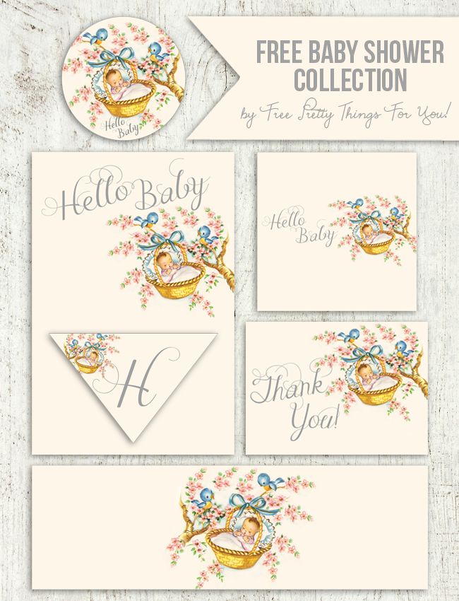image regarding Baby Shower Printable named Totally free Common Little one Shower Printable Assortment! - Absolutely free Incredibly