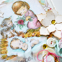 Christmas in July with Chouxchoux Paper Art Day 2