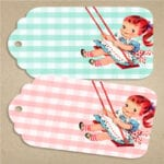 Free_vintage_girl_on_swing_Tags_FPTFY_2