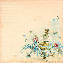 scrapbook_Free_digital_Paper_vitbage_bicycle_3