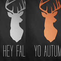 Hey Fall Free Wall Decor