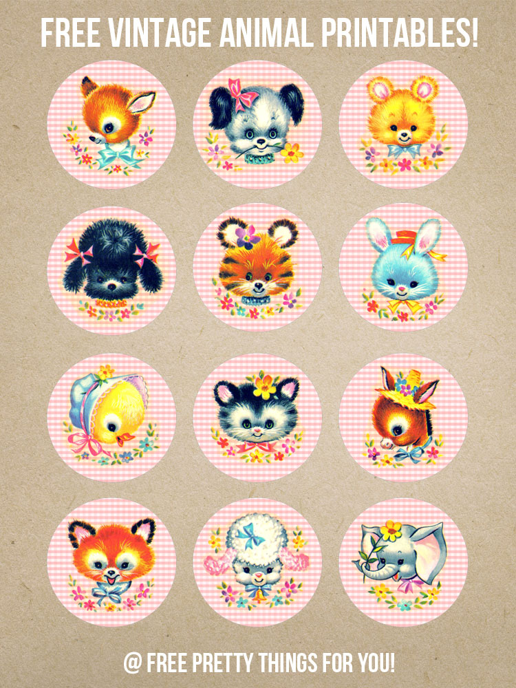 Vintage_Stock_Kitschy_Baby_Animal_Circles_FPTFY_1