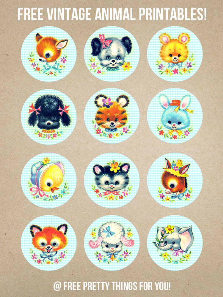 Vintage_Stock_Kitschy_Baby_Animal_Circles_FPTFY_4