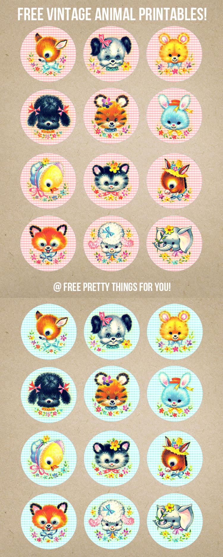 Vintage_Stock_Kitschy_Baby_Animal_Circles_FPTFY_7