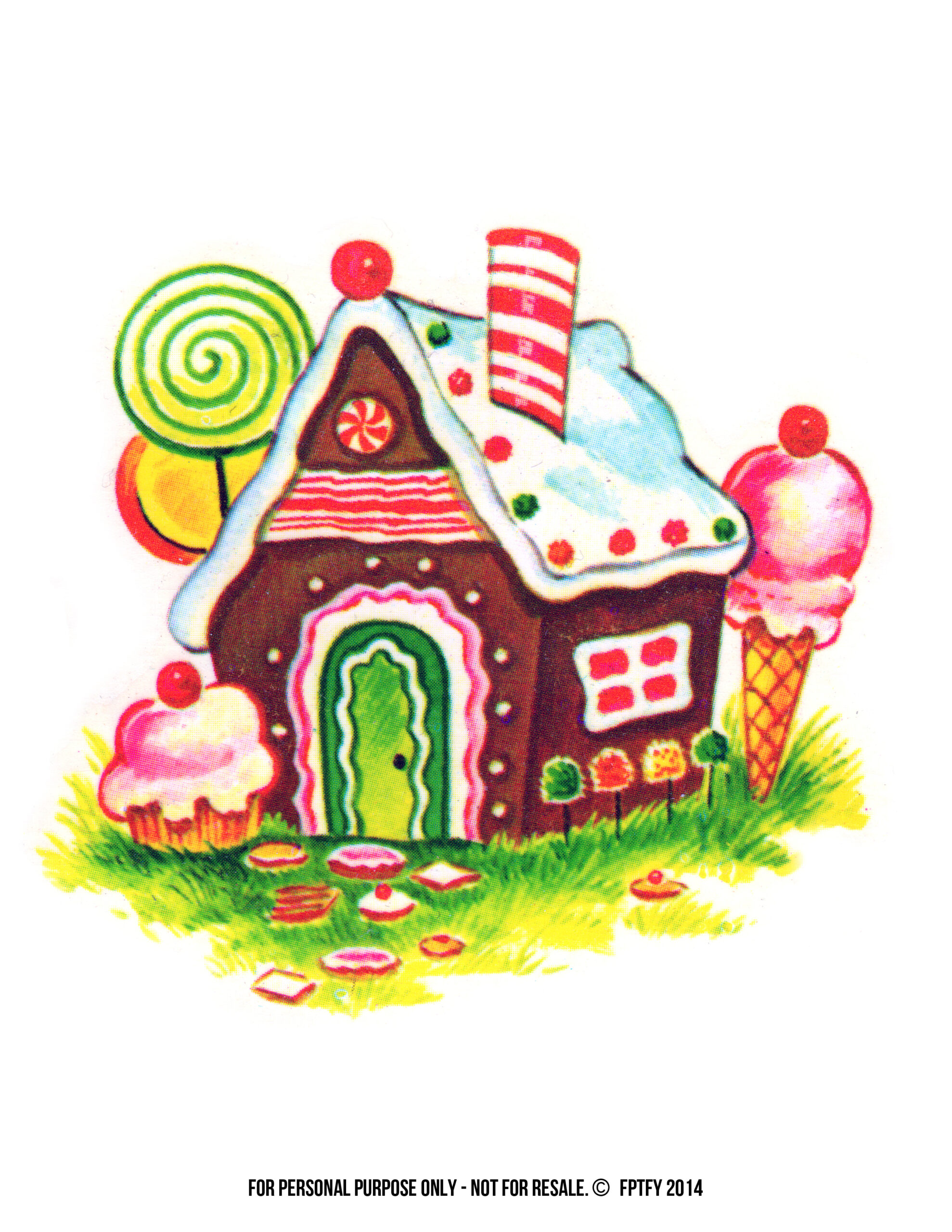 Christmas Images: Gingerbread House Clip Art - Free Pretty Things ...