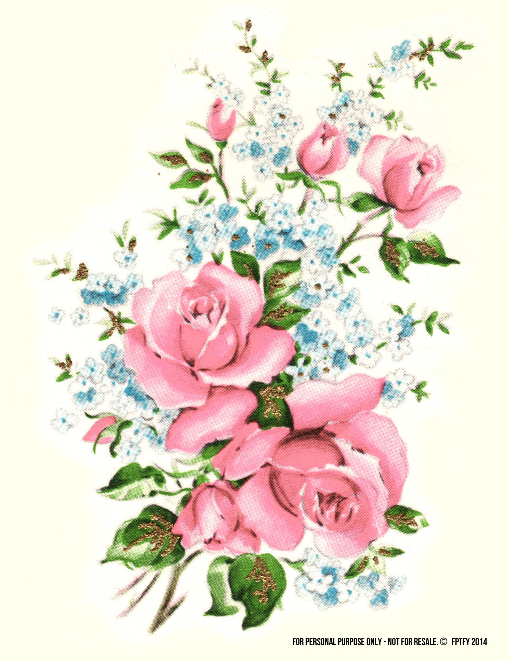 Light Pink Rose Clip Art