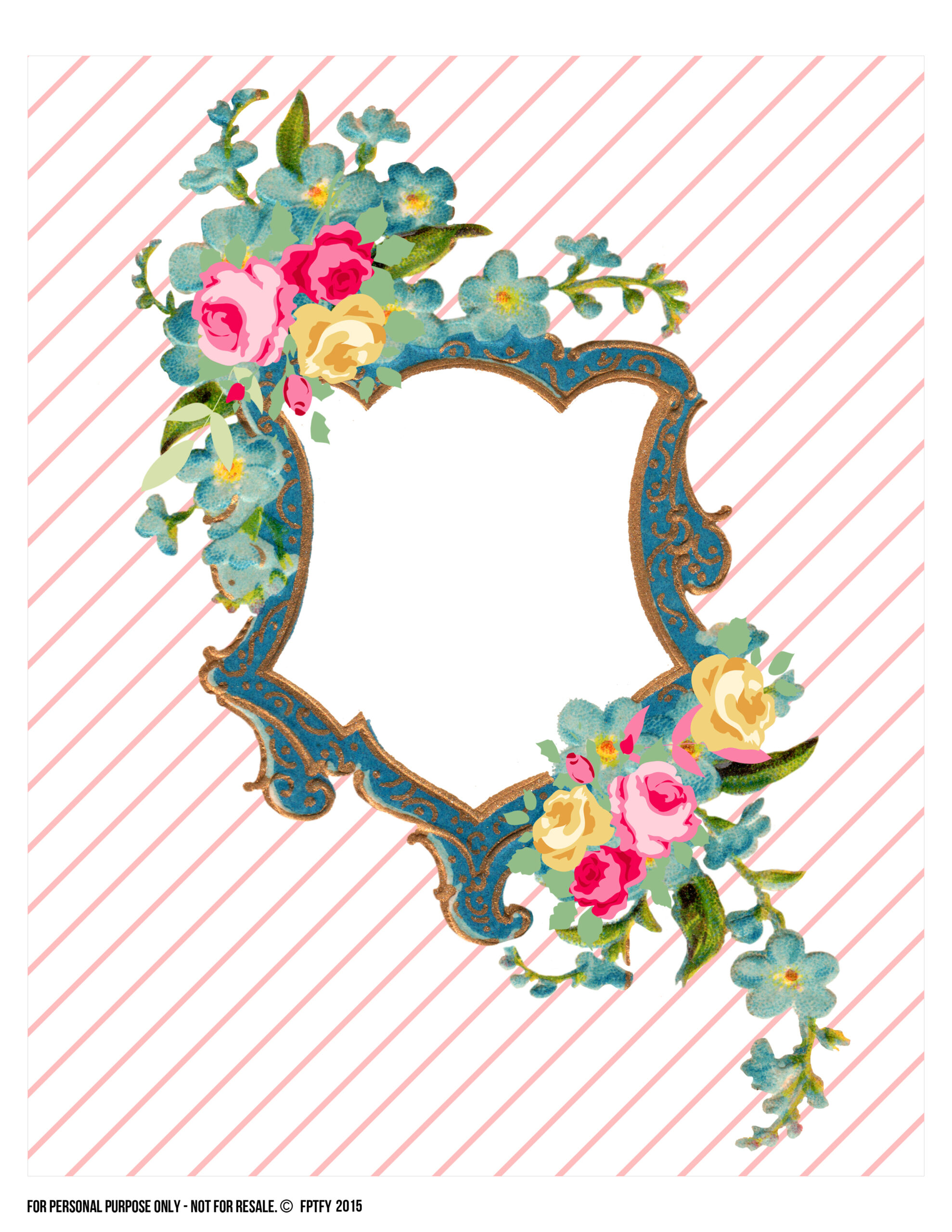 art free floral 8x10 print free pretty things for you