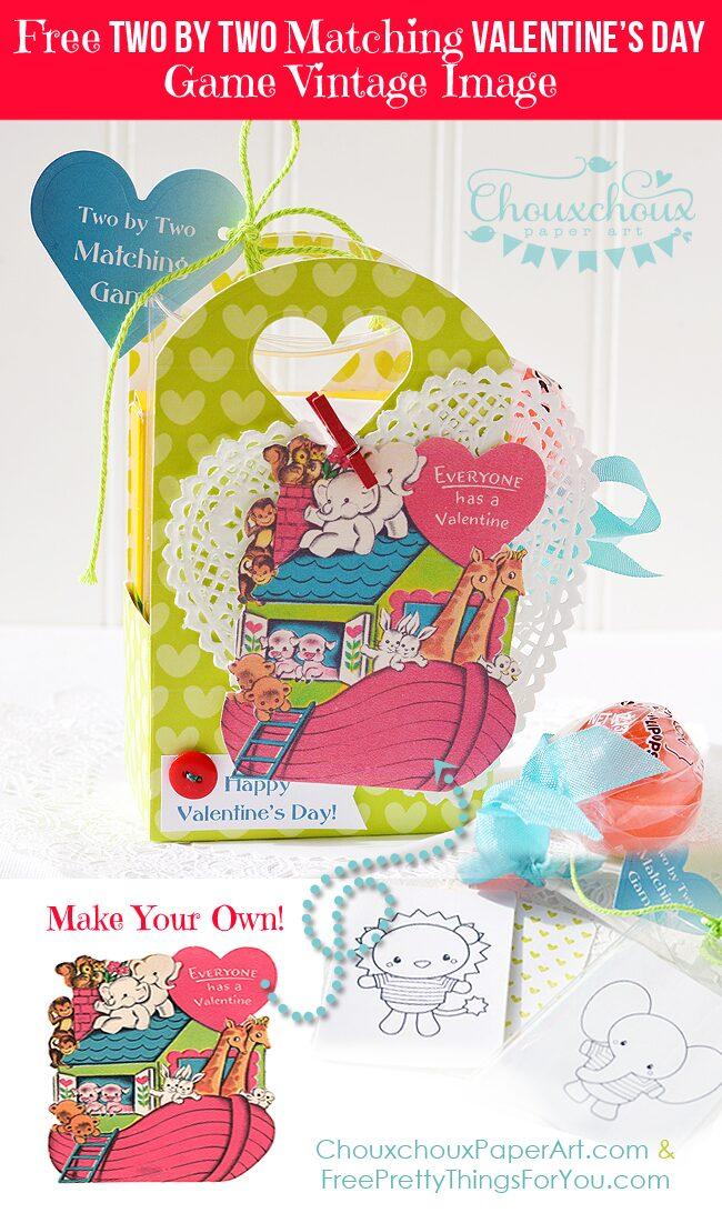 free_vintage_valentine_card_noahs_ark_FPTFY_1