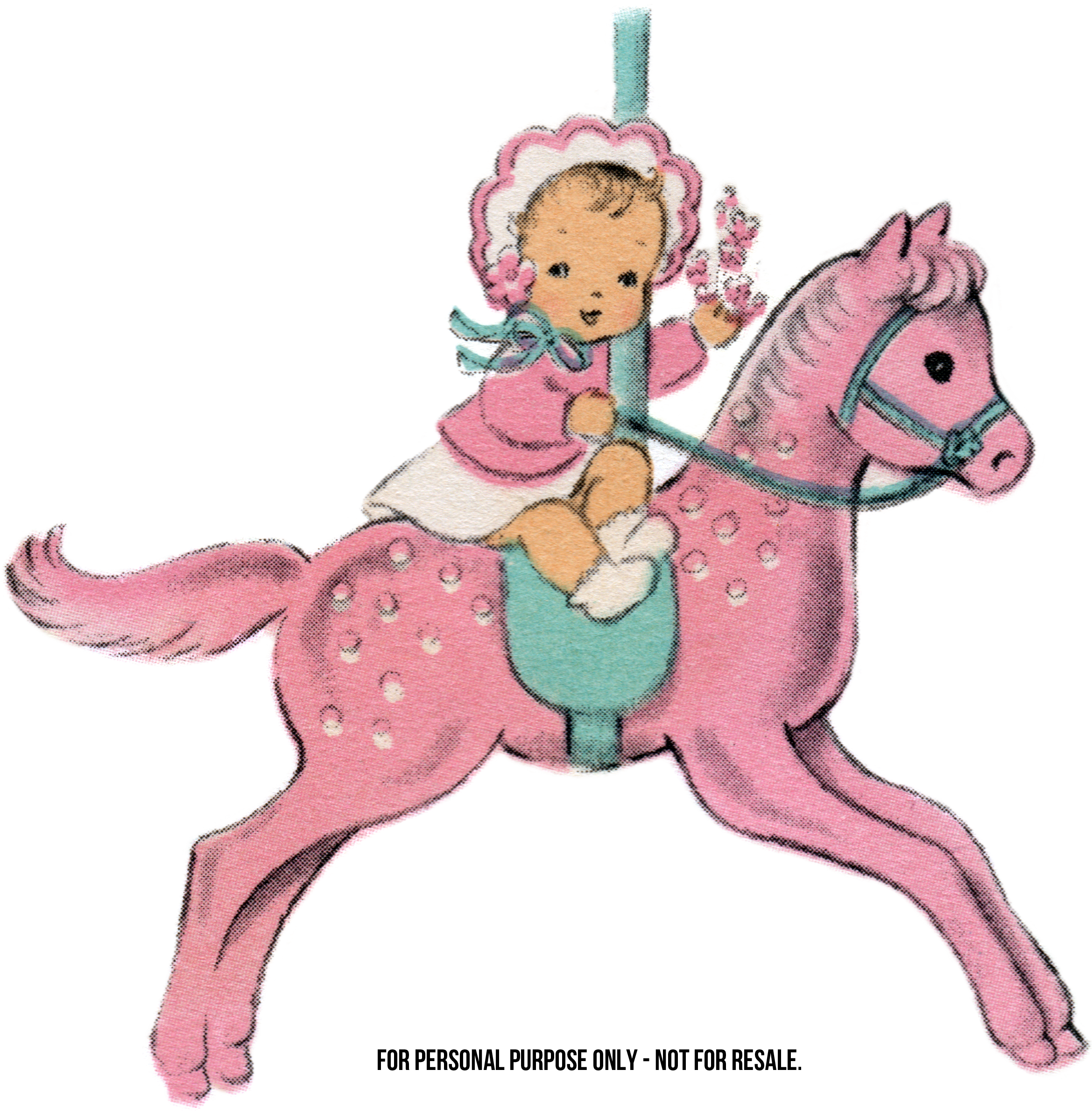 Baby Clip Art: Pretty in Pink - Free Pretty Things For You