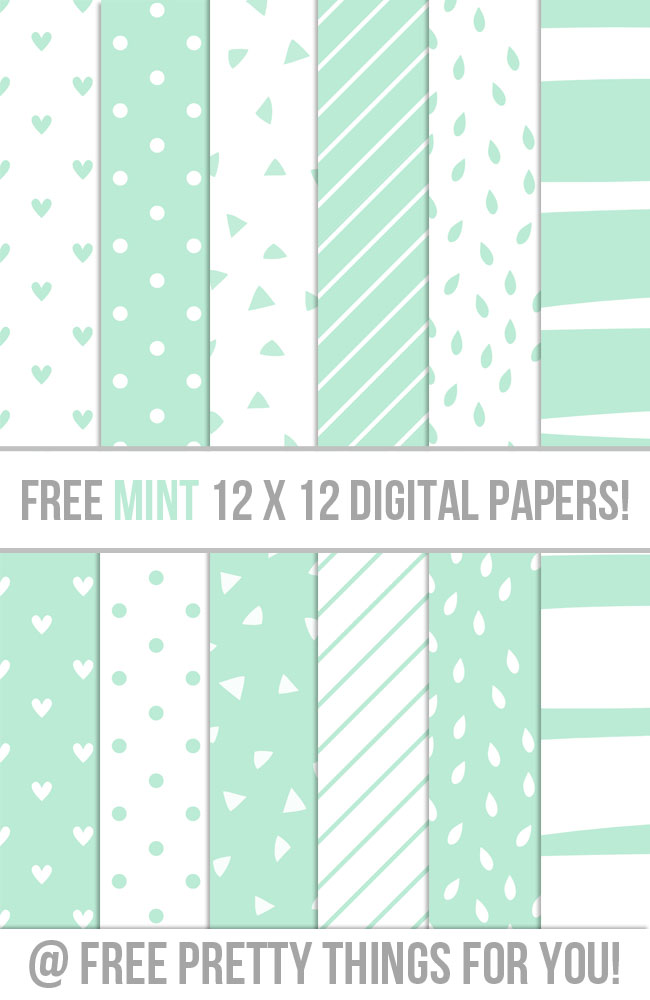 Free-MINT-12-x-12-Digital-Papers-FPTFY