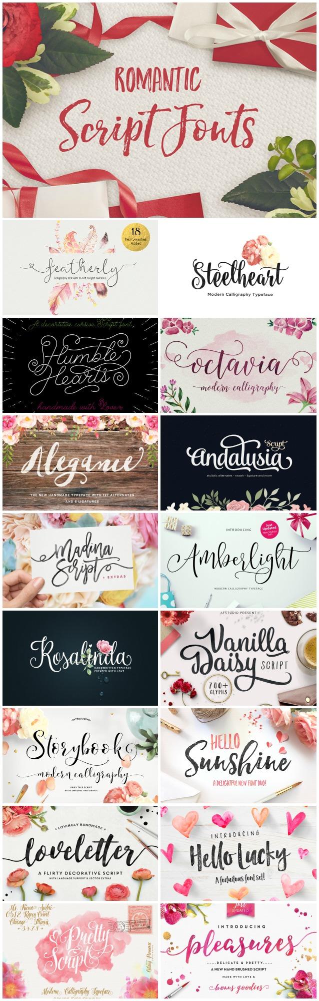 romantic-fonts