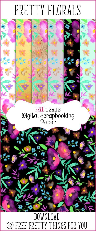 watercolor-flower-digital-scrapbooking-paper-FPTFY-11
