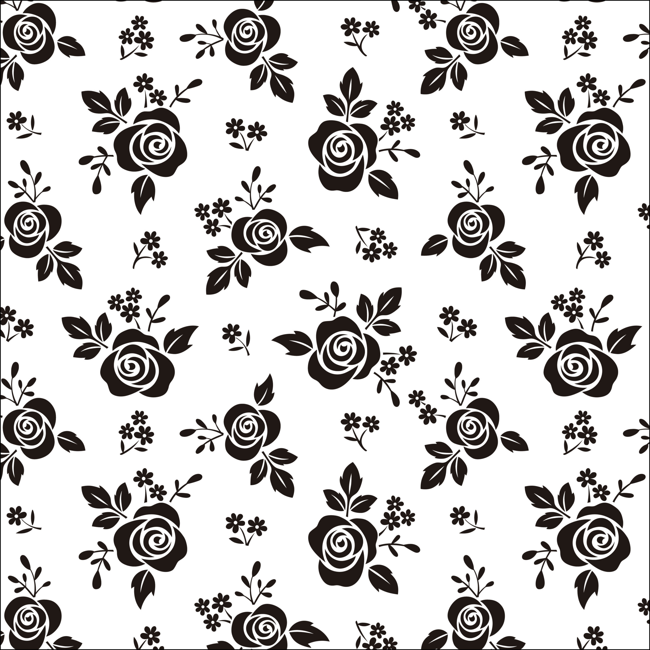Scrapbook paper black white and gold leaf free pretty - Scrapbook background free printables ...