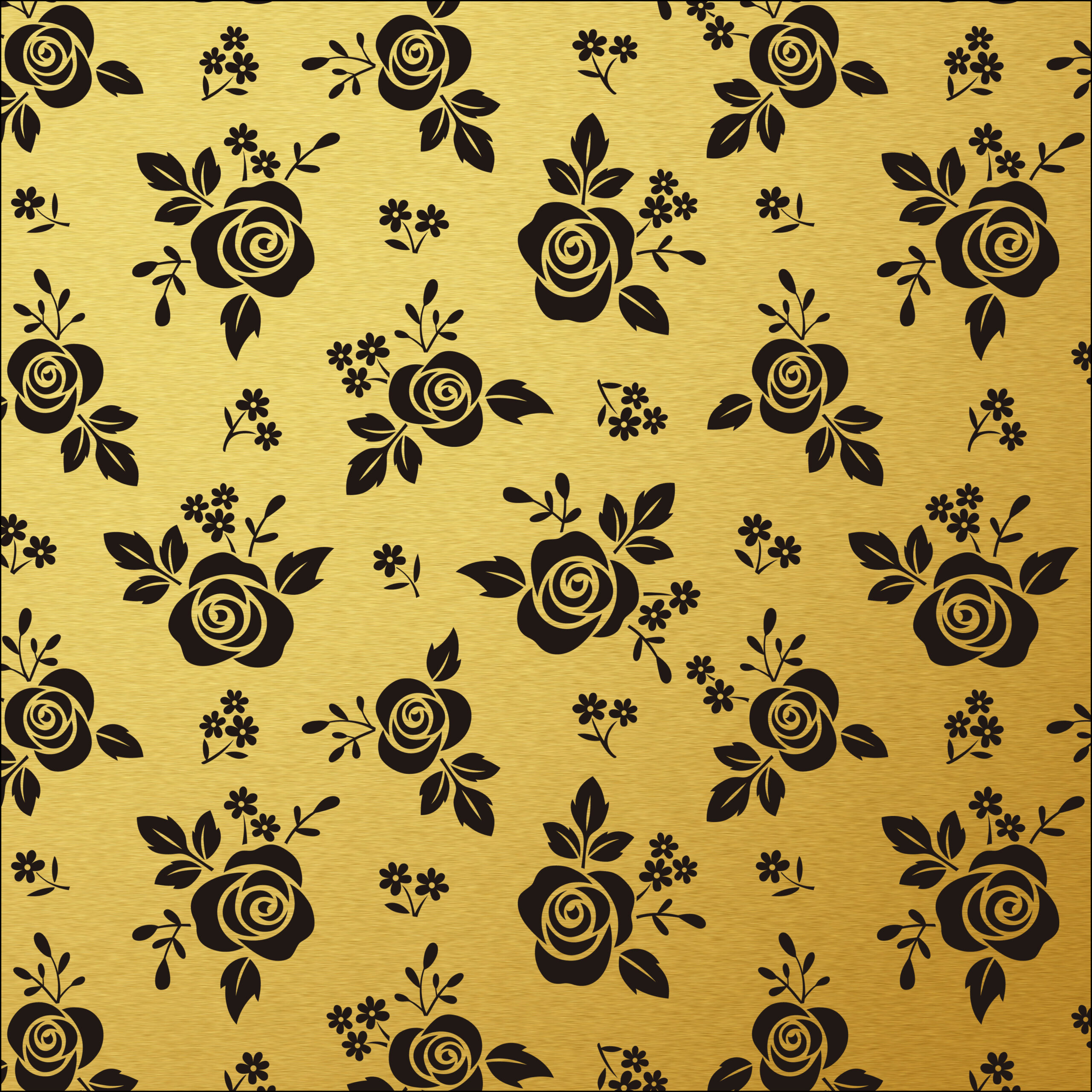 Scrapbook Paper- Black White and Gold leaf - Page 6 of 7 - Free ...