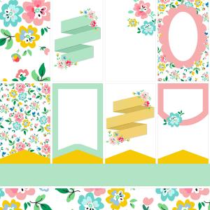 Free Planner Printables-Floral Fun!