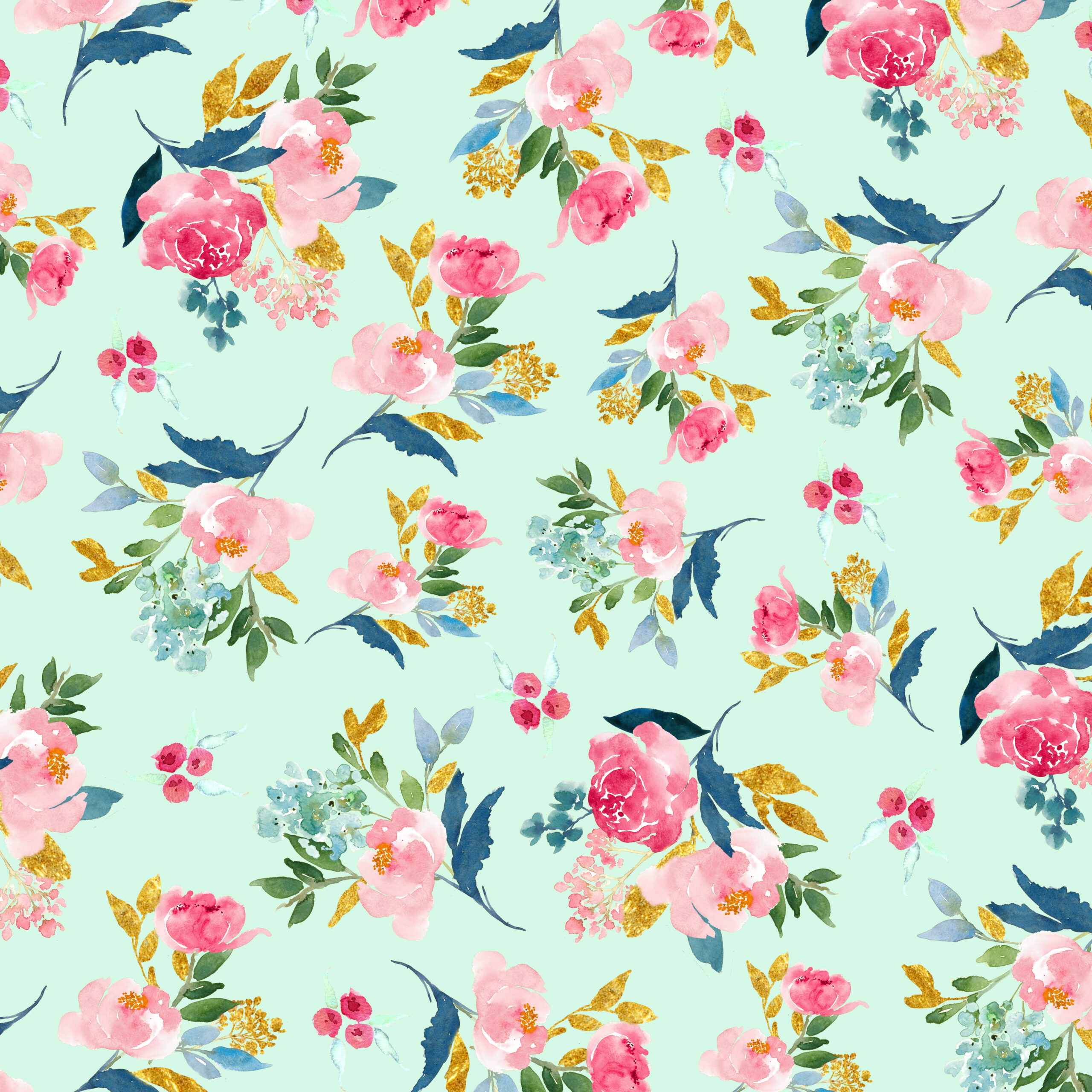 Scrapbook paper as wallpaper - Btw The Gorgeous Floral Papers