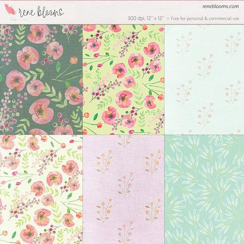 free-floral-digital-paper-rene-blooms-1