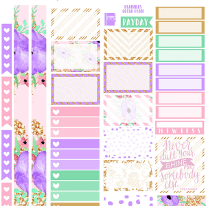Shine Planner Printables by BeaYOUtiful Planning- Gorgeous!