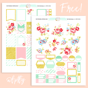 Blossom Delight Planner Addict Printable Collection!