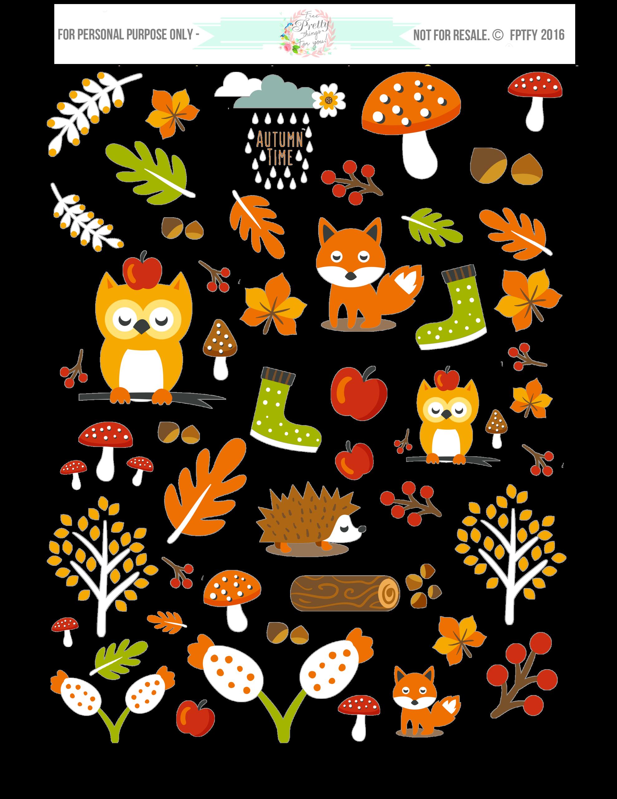 animals clipart pdf - photo #45