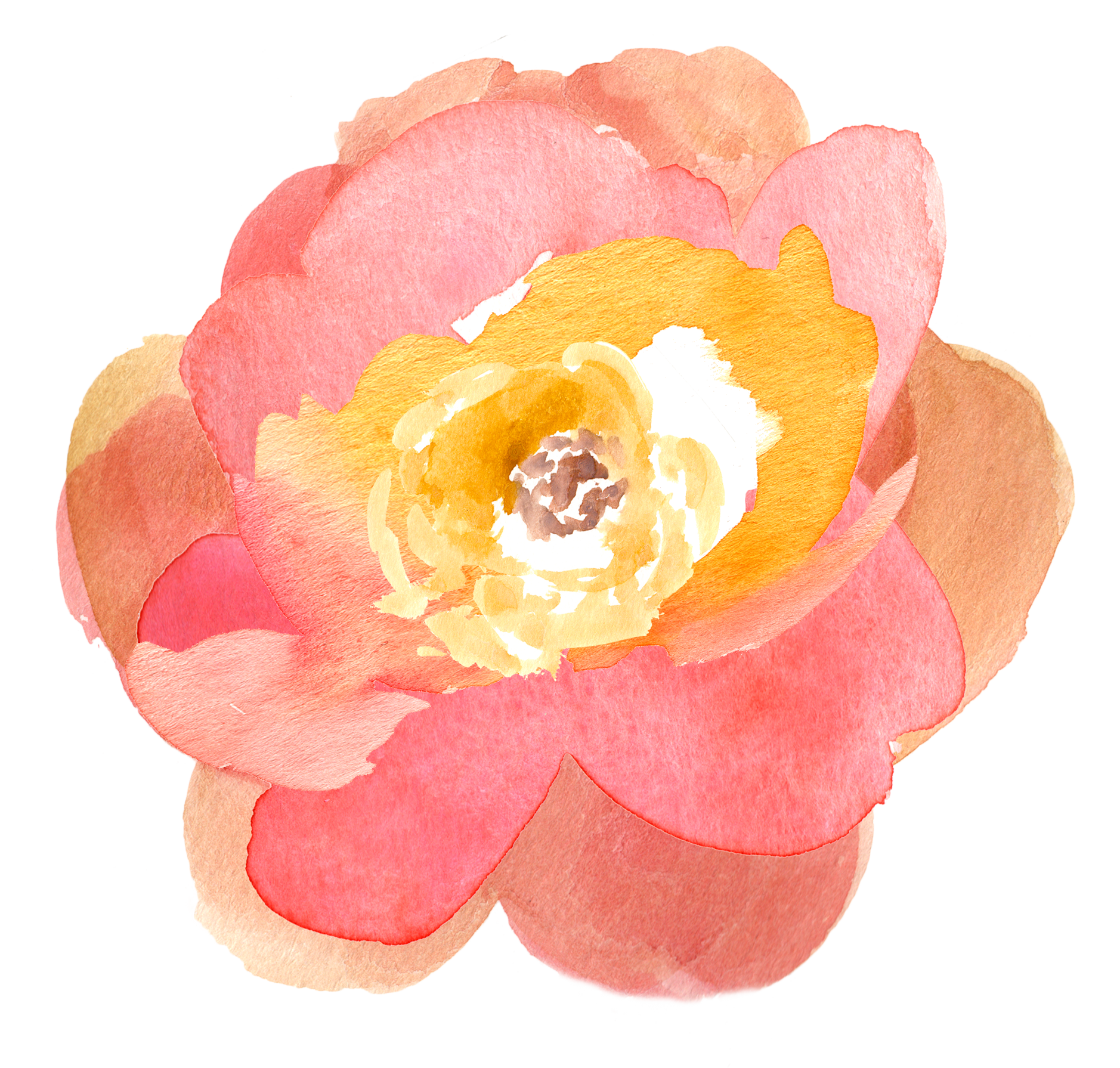 Free Fall Watercolor Floral Clip Art So Pretty Free Pretty Things For You