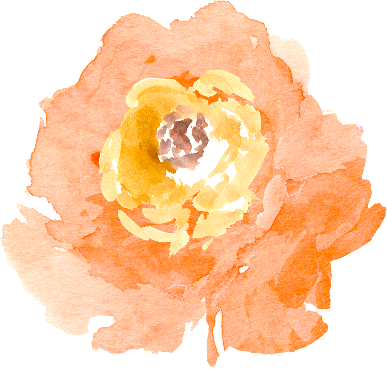 Free Watercolor Floral Elements Pretty