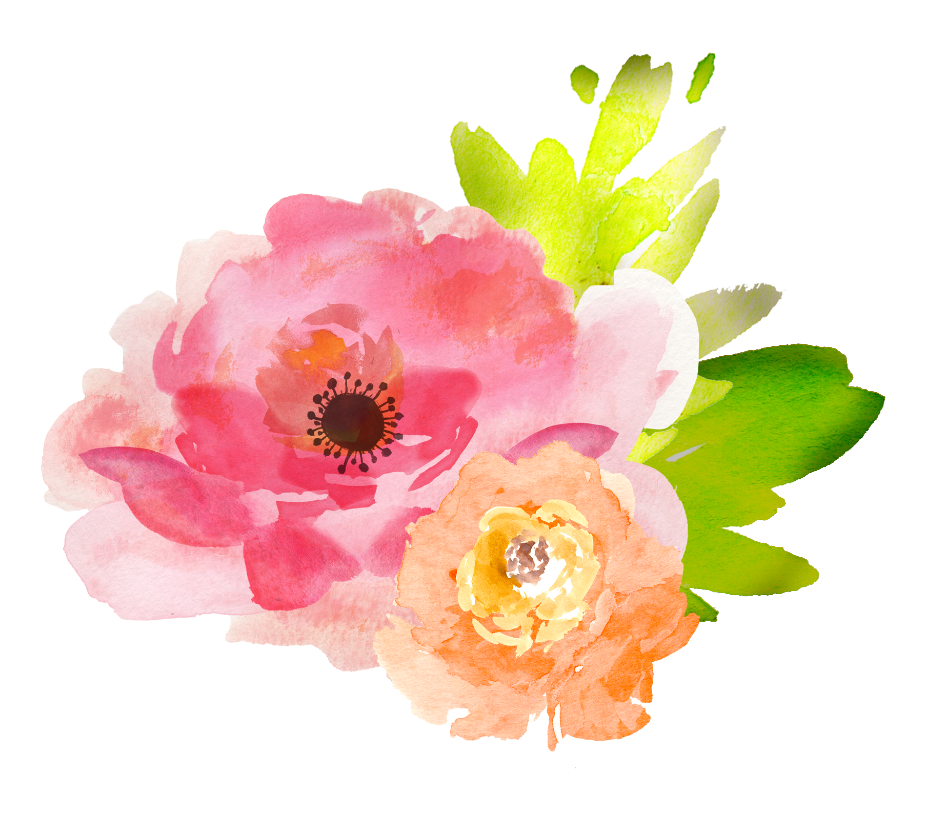 watercolor flower clipart free - photo #34