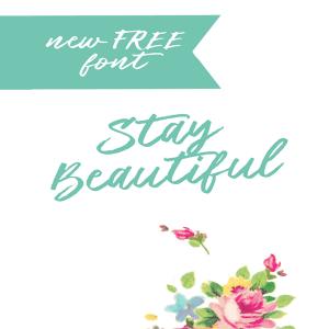 New Free Brush Font -Beautiful!
