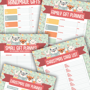 Free Christmas Planner Printables!