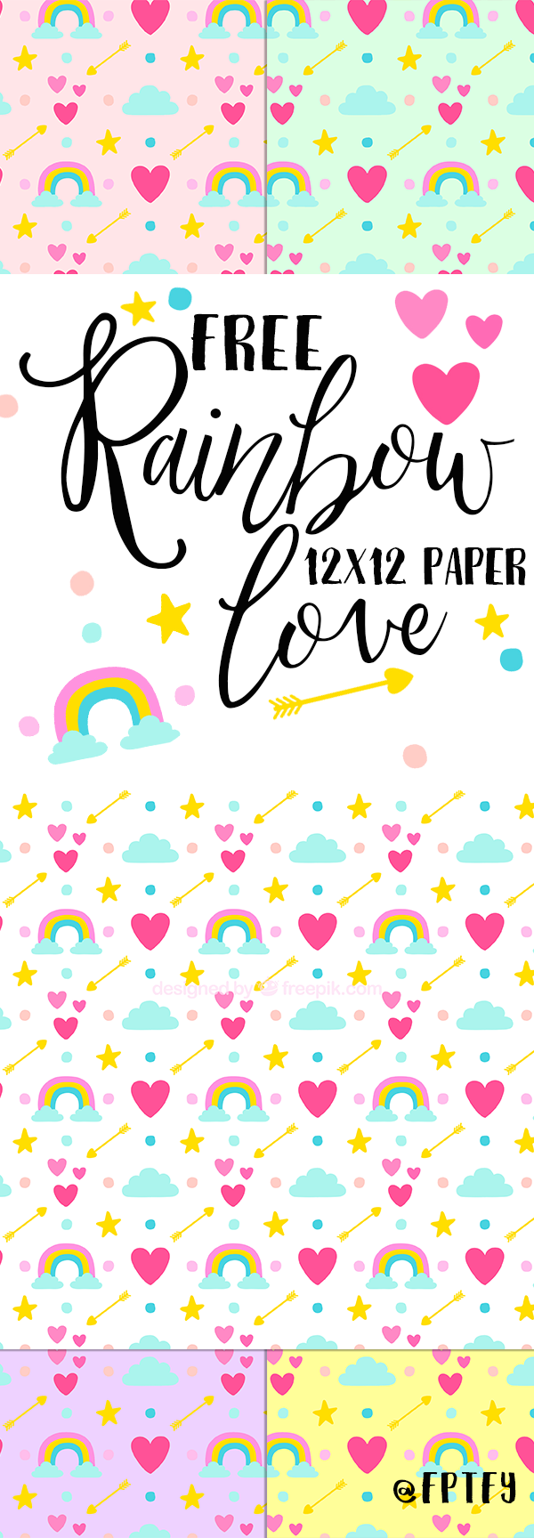 free-rainbow-love-12x12-digital-paper-fptfy-1