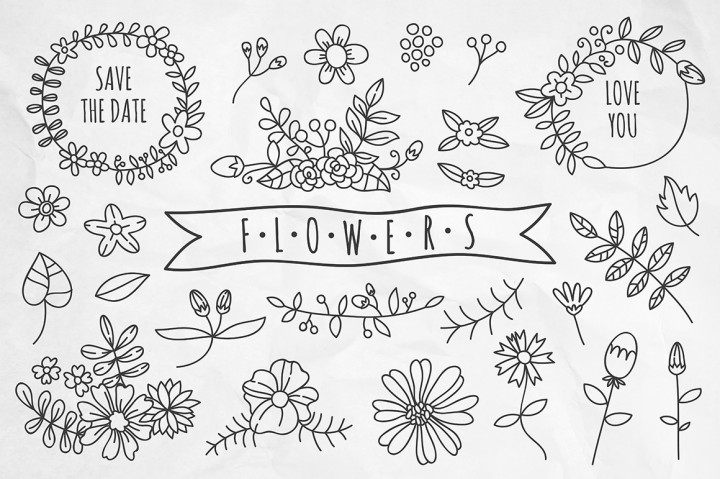https://thehungryjpeg.com/product/30179-hand-drawn-flowers-and-wreaths/freepretty/