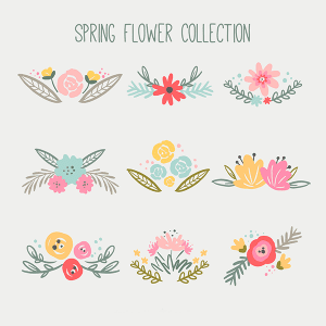 Free Spring Flower Collection