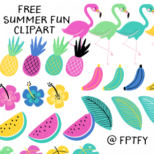 Free Summer Fun Clipart!