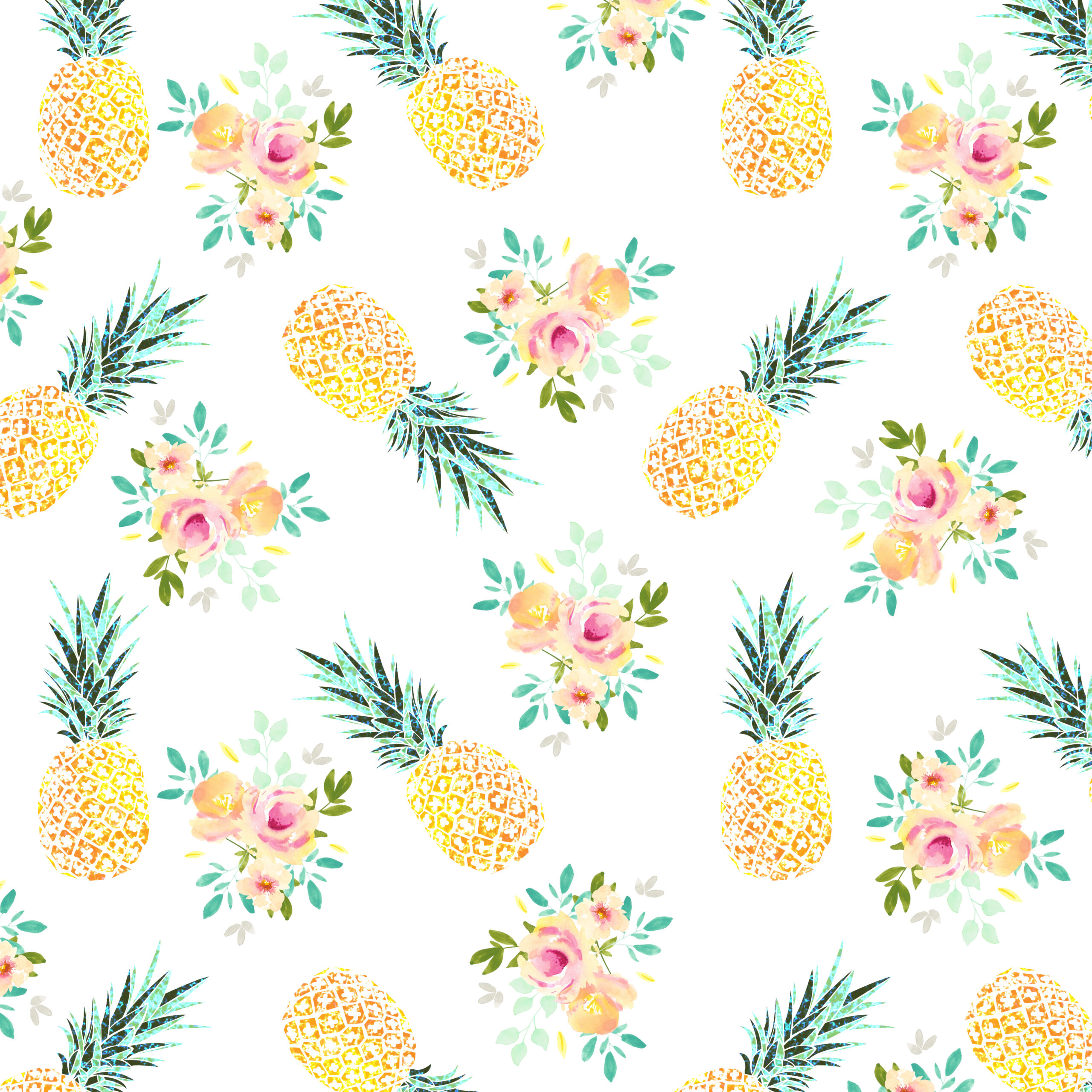 Free Summer Sweetness Digital Paper - Free Pretty Things