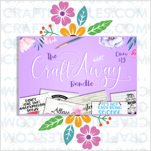Free SVG Files – Craft Away!