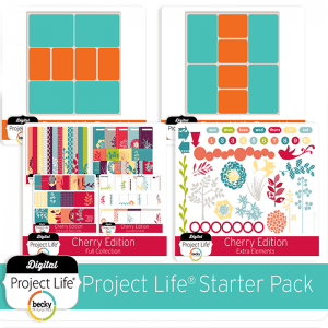 Free Project Life Digital Elements