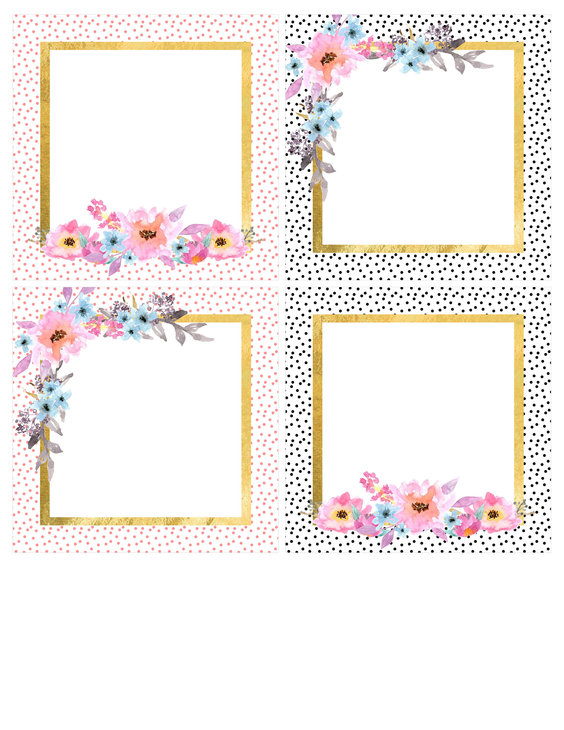 It's just a photo of Crafty Printable Scrapbook Pages