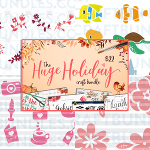 Free SVG Files /// THE HUGE HOLIDAY CRAFT PACK