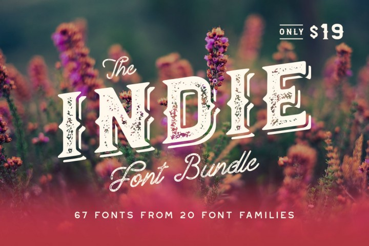 The Indie Font Pack Free Declara Font Free Pretty Things For You