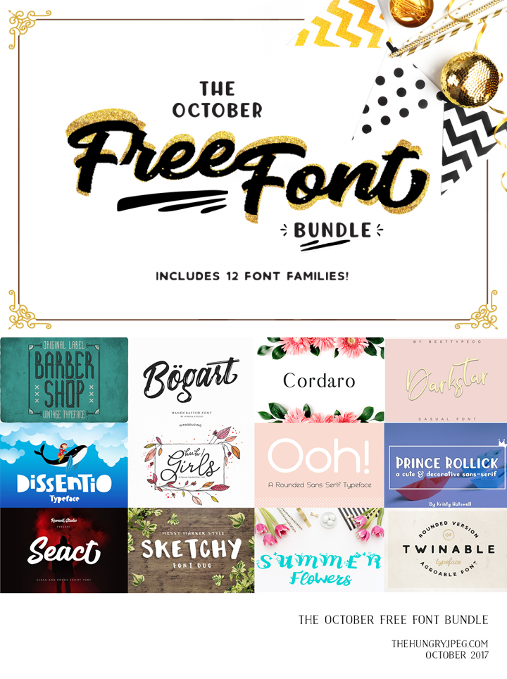 Download 12 FREE FONT PACK Time Sensitive ! - Free Pretty Things ...