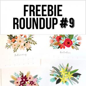 Freebie Roundup #9
