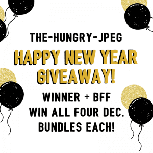 Happy New Year Giveaway-THJ! CLOSED