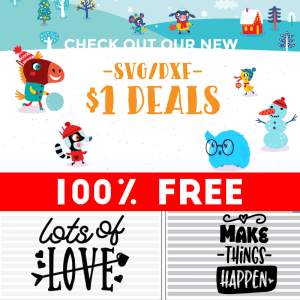 NEW SVG Freebies and Dollar Deals From Craft bundles