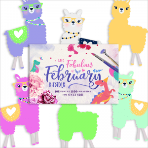 You're a Llama fun Freebie Collection!